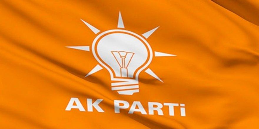 AK Parti'de 2 il başkanı istifa etti
