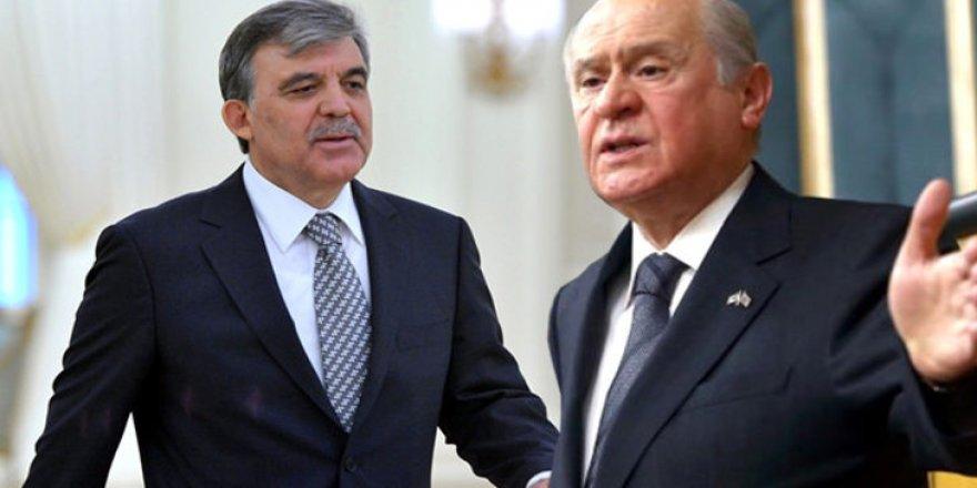 Devlet Bahçeli'den Abdullah Gül'e flaş uyarı!