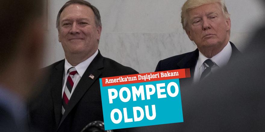 Amerika'nın Dışişleri Bakanı Pompeo oldu