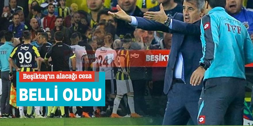 Beşiktaş'ın alacağı ceza belli oldu