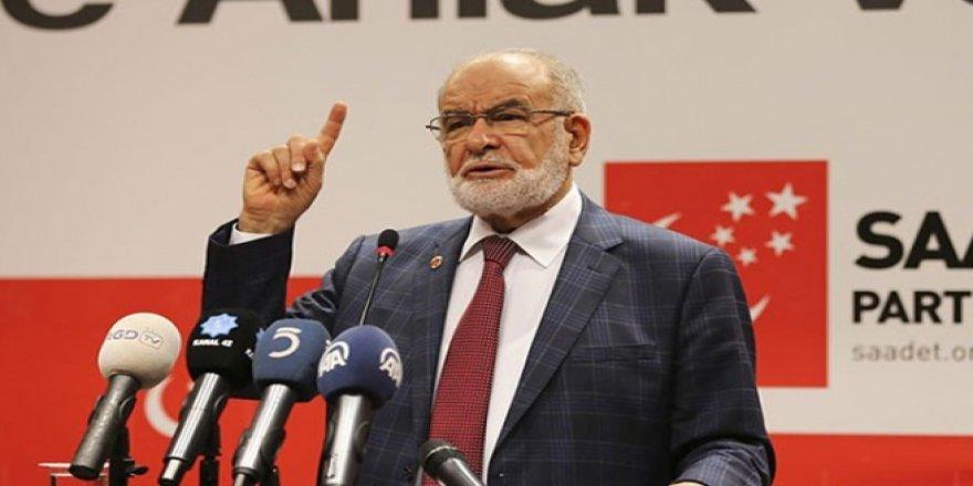 Saadet Partisi adayını 1 Mayıs'ta açıklayacak