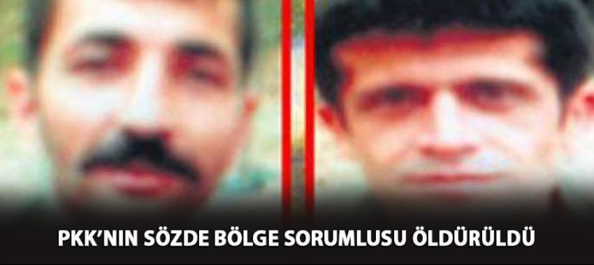 PKK'nın üst yöneticisi öldürüldü