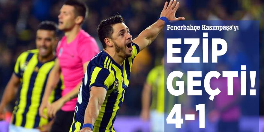 Fenerbahçe Kasımpaşa'yı ezip geçti! 4-1