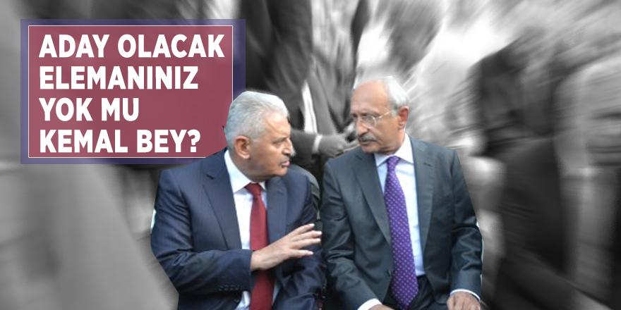 Başbakan Yıldırım: Aday olacak elemanınız yok mu Kemal Bey?