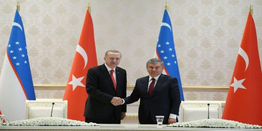 Türkiye ile Özbekistan arasında 25 anlaşma imzalandı!