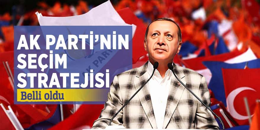AK Parti'nin seçim kampanyasında izleyeceği yol haritası belli oldu