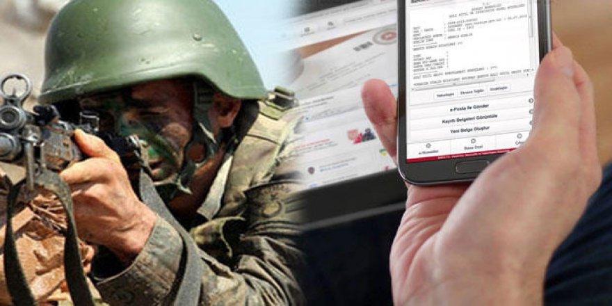 """E-devlette """"Askerlik"""" uygulaması başlıyor"""