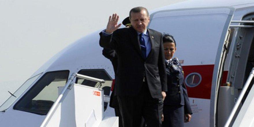 Cumhurbaşkanı Erdoğan Güney Kore'ye hareket etti