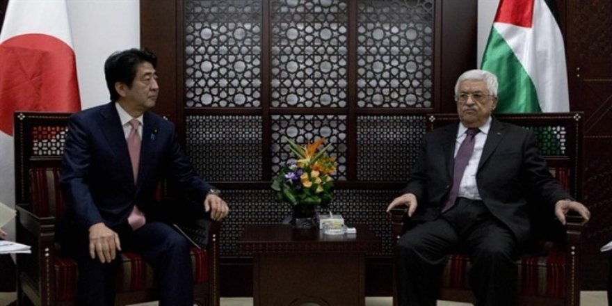 "Japonya Başbakanı Abe'den ""Filistin""e destek"