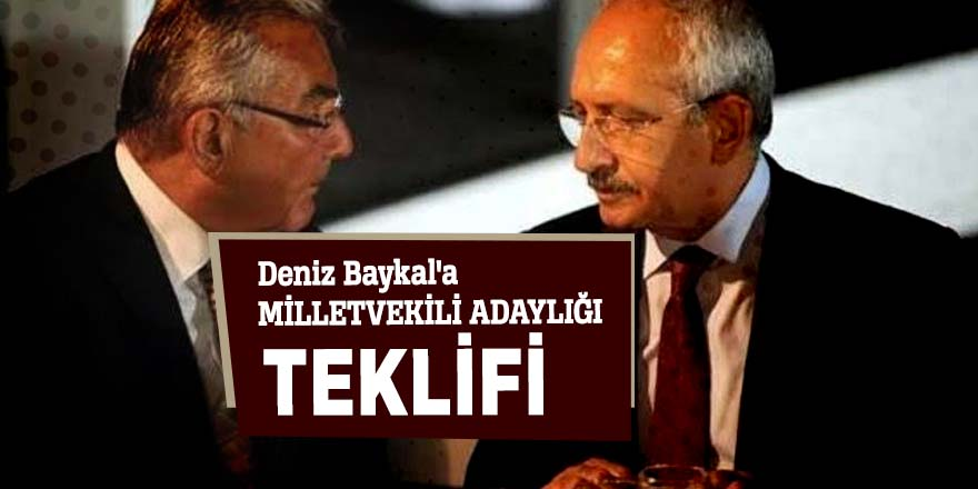 Baykal'a milletvekili adaylığı teklifi