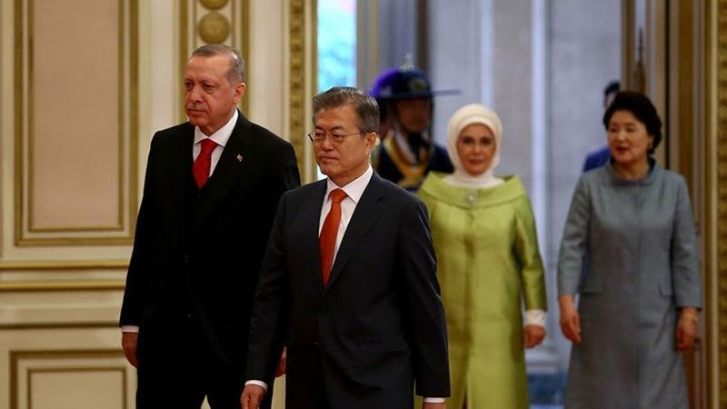 Türkiye ile Güney Kore arasında 4 yeni anlaşma