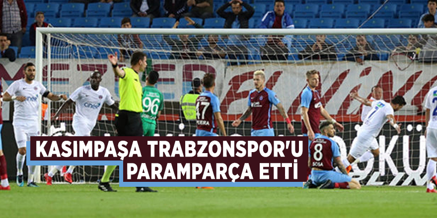 Kasımpaşa Trabzonspor'u paramparça etti