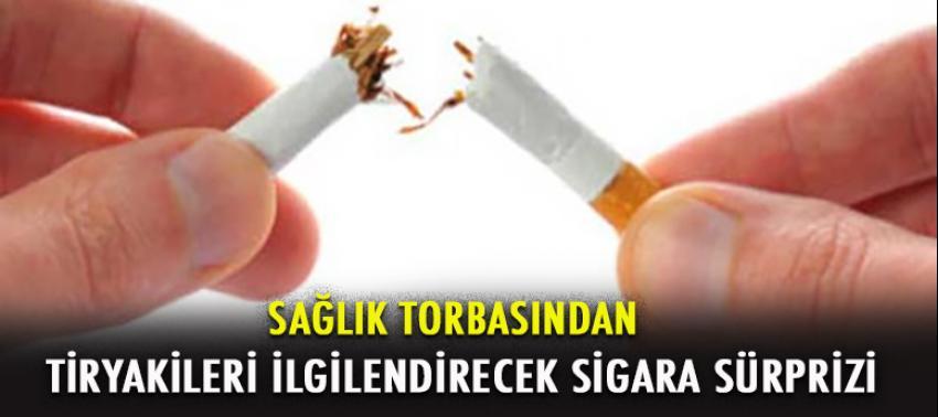 Sağlık paketinden 'sigara' sürprizi