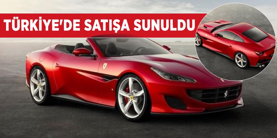 Ferrari'nin yeni modeli Türkiye'de satışa sunuldu