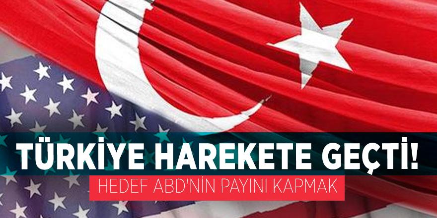 Türkiye harekete geçti! Hedef ABD'nin payını kapmak
