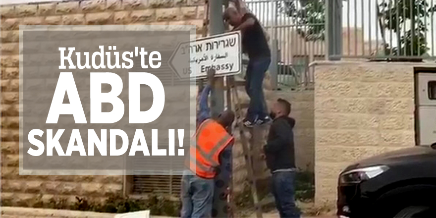Kudüs'te ABD skandalı!