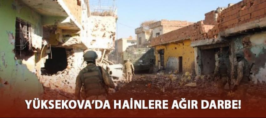 Yüksekova'da PKK'ya ağır darbe: 16 terörist öldürüldü