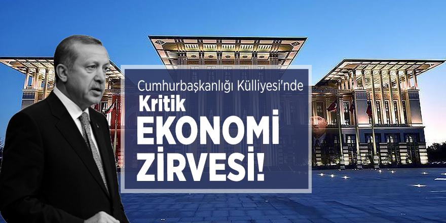 Cumhurbaşkanlığı Külliyesi'nde kritik ekonomi zirvesi!