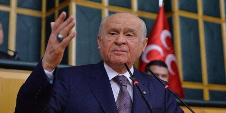 MHP lideri Bahçeli'den 15'lilere tokat gibi sözler!
