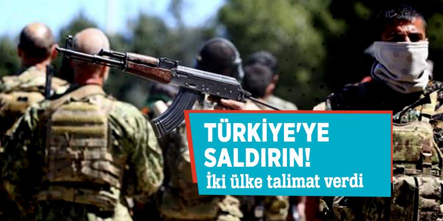 İki ülke talimat verdi: Türkiye'ye saldırın!