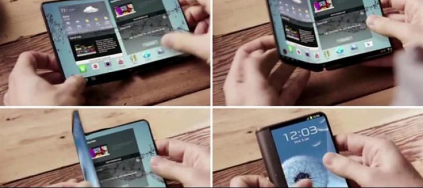 Samsung'dan müthiş yenilik: Katlanabilen telefon-tablet