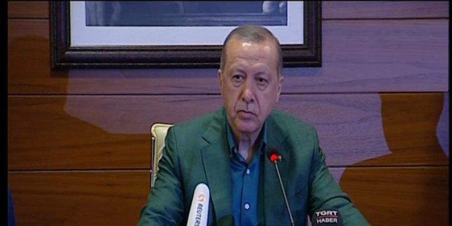 Cumhurbaşkanı Erdoğan'dan af önerisine net cevap!