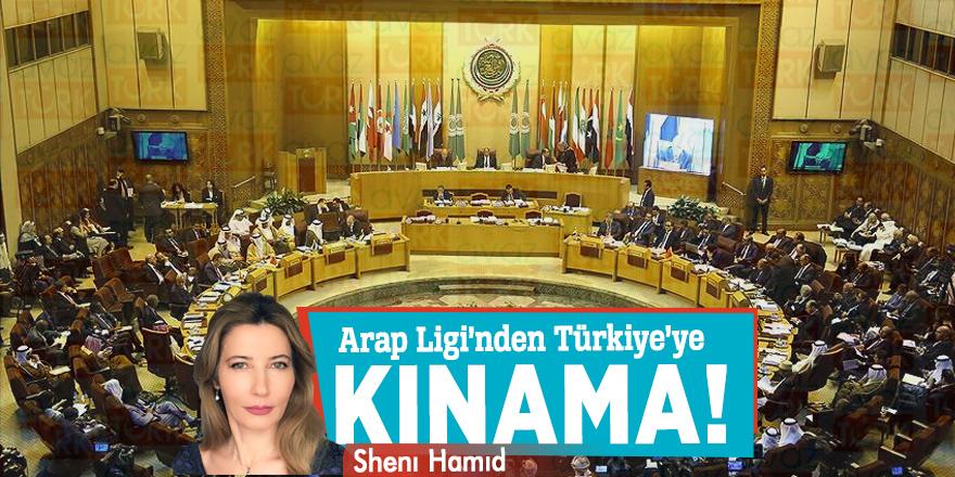 Arap Ligi'nden Türkiye'ye Kınama!