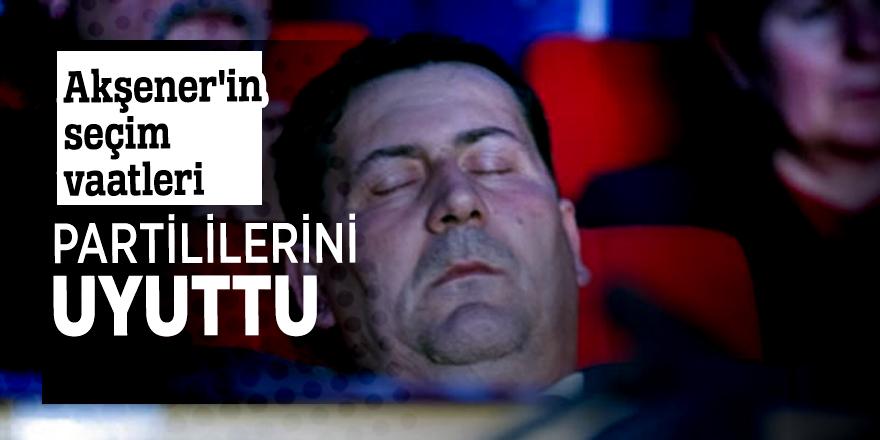 Akşener'in seçim vaatleri partililerini uyuttu!