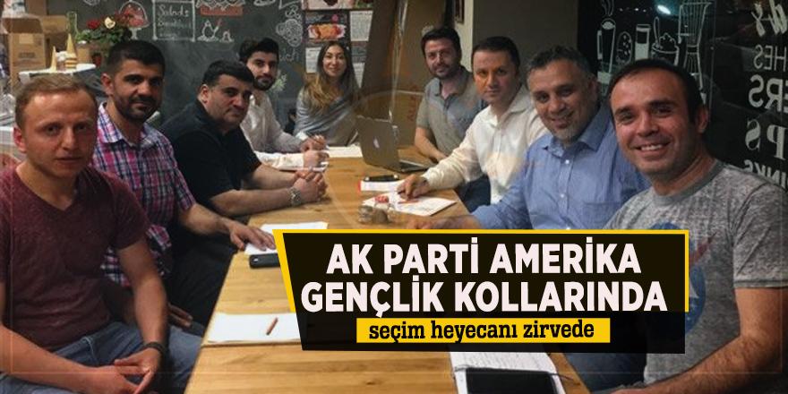 AK Parti Amerika Gençlik Kollarında seçim heyecanı zirvede