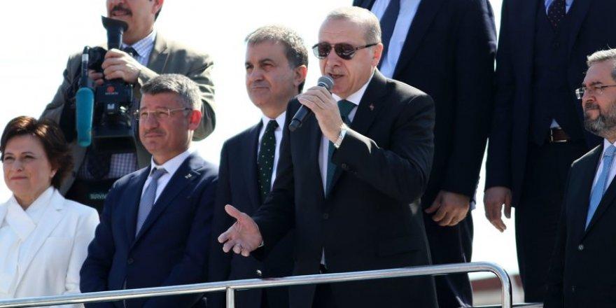 Cumhurbaşkanı Erdoğan Netanyahu'ya ateş püskürdü