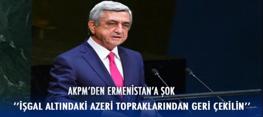 Avrupa'dan Ermenistan'ı şok: Derhal çekil!