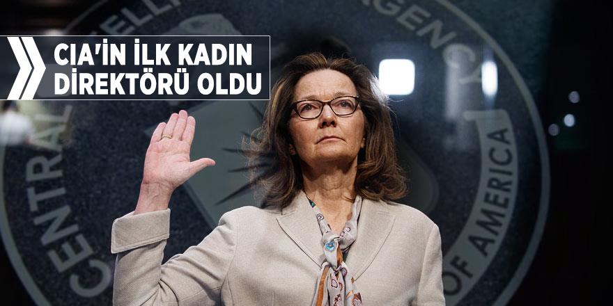 Haspel, CIA'in ilk kadın direktörü oldu