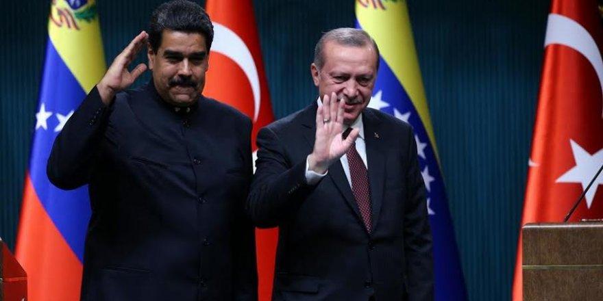 Erdoğan'dan Maduro'ya seçim desteği