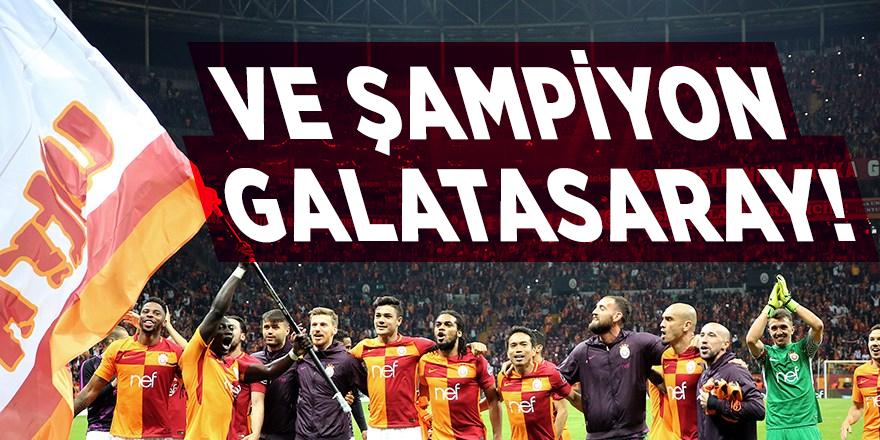 Galatasaray şampiyon oldu!