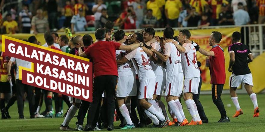 Galatasaray kasasını doldurdu