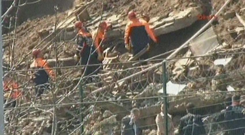 Gülhane Parkı'nda duvar çöktü! 2 kişi öldü