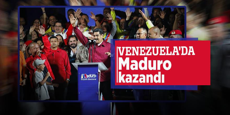 Venezuela'da Maduro kazandı