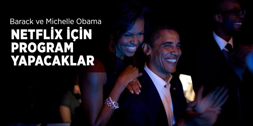 Barack ve Michelle Obama Netflix için program yapacaklar