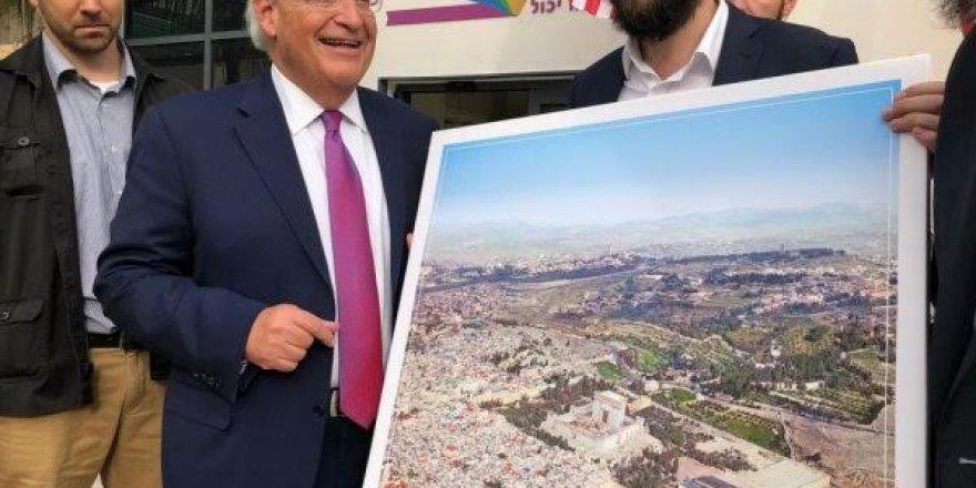 ABD'nin İsrail Büyükelçisine Mescid-i Aksa'nın olmadığı Kudüs tablosu