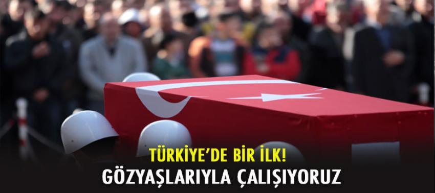 Türkiye'de bir ilk! 'Gözyaşlarıyla çalışıyoruz'