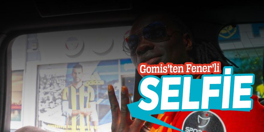 Gomis'ten Fener'li selfie