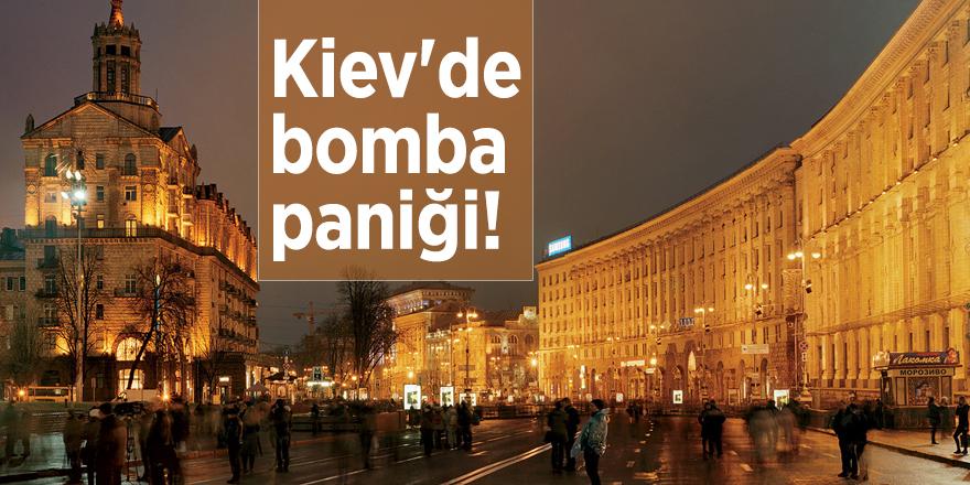 Kiev'de bomba paniği!