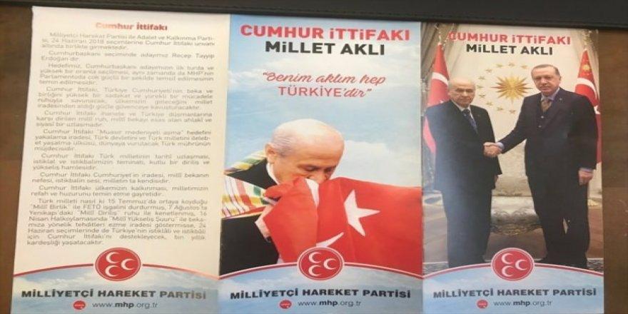 MHP broşüründe dikkat çeken detay!