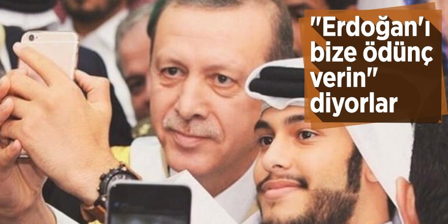 """Arap - Türk İş Adamları Derneği Başkanı: """"Erdoğan'ı bize ödünç verin"""" diyorlar"""