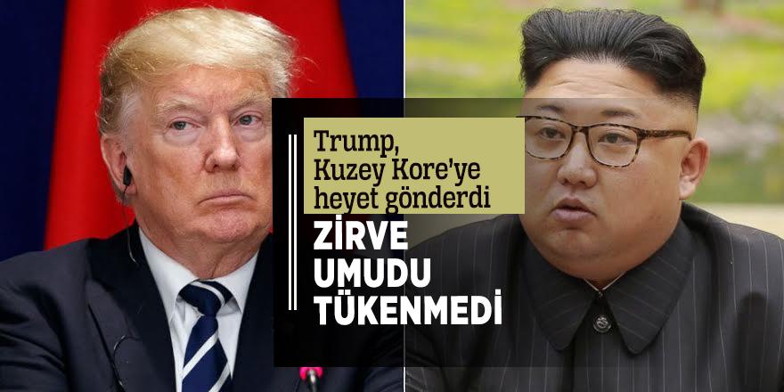 Trump, Kuzey Kore'ye heyet gönderdi!  Zirve umudu tükenmedi