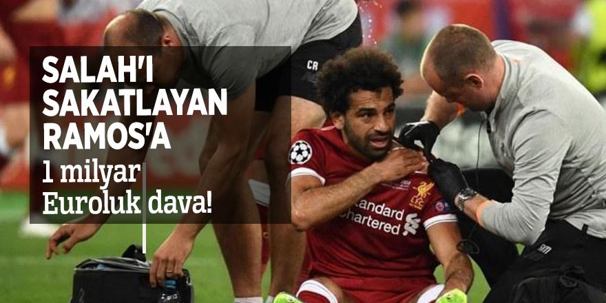 Salah'ı sakatlayan Ramos'a 1 milyar Euroluk dava!