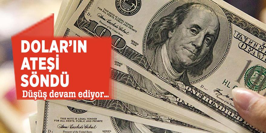 Dolar'ın ateşi söndü! Düşüş devam ediyor…