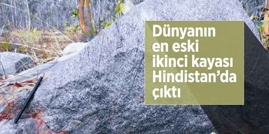 Dünyanın en eski ikinci kayası Hindistan'da çıktı