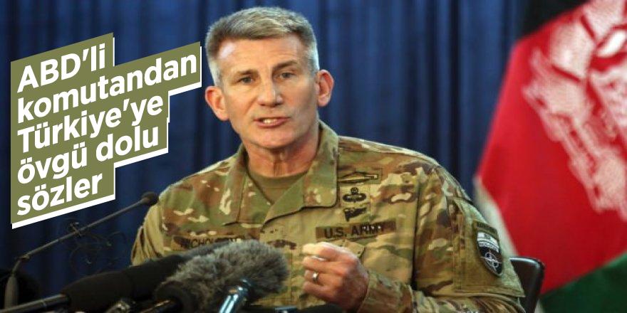 ABD'li komutandan Türkiye'ye övgü dolu sözler