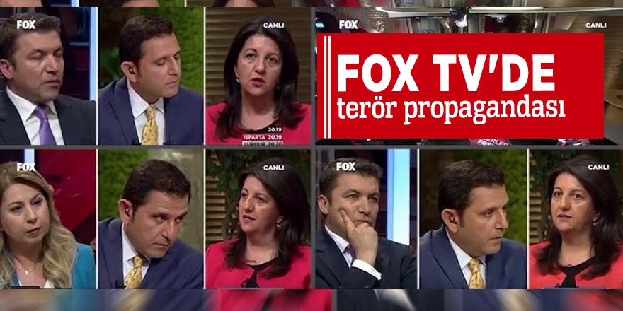 Fox Tv'de terör propagandası